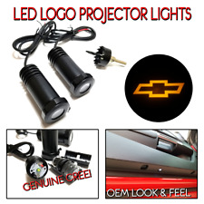 Lumenz LED Courtesy Logo Lights Ghost Shadow for Amber Chevrolet 100632