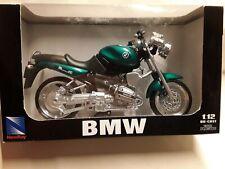 BMW R 1100 R * grün * 1:12 New Ray