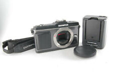 Olympus PEN E-P2 12.3MP Digital Mirror Less Camera Black Body [Excellent+] -2
