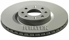 JURATEK PAIR OF FRONT BRAKE DISCS FOR FIAT PUNTO EVO HATCHBACK 1.4 16V