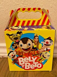 10ct Bely Y Beto Party Favor Candy/Treat Boxes Loot Bag Goody Treat Bag