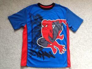 Boy's Marvel Spider-Man Shirt Size Large 10/12
