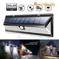 5000LM 118LED Solar Lamp Outdoor Garden Waterproof PIR Motion Sensor Light