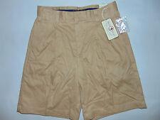 Duck Head Mens Khaki Shorts Tan PLEATED Sz 38 Style 1129453DH Brand NEW $28 NWT