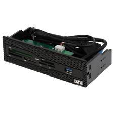 5.25'' USB3.0 Internal Memory Card Reader Multi-card Front Panel for Desktop