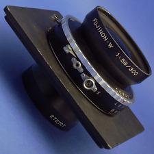 Fujinon-W 300mm 5.6 8x10 Lens Copal Shutter 6x6 Lens Board