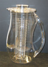 16ea - 2 Liter (72oz) Acrylic Infuser Jug Pitcher *** BRAND NEW