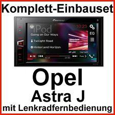 Komplett-Set Opel Astra J Pioneer MVH-AV290BT USB Bluetooth Autoradio