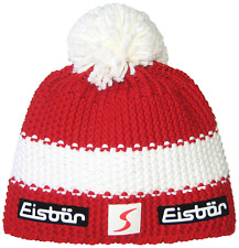 Eisbär Star Pompom SP Hat Multi-Coloured Rot/White/Rot Size:One size