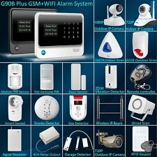 Hot G90B Plus WiFi GSM SMS Wireless Home Alarm Security System Accessories Lot