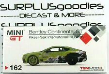 Tsm Model Mini-Gt 2019 Bentley Continental Gt Pikes Peak International HillClimb