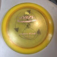 Rare Patent #s Yellow-Orange Champion Xcaliber 176 g Innova Disc Golf Oop 7+/10