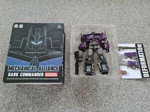 Mechanical Alliance YS-06 Dark Commander Transformers Shattered Glass Prime