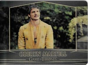 Game of Thrones : Valarian Steel  gold parallel base #88 (096/100) Oberyn