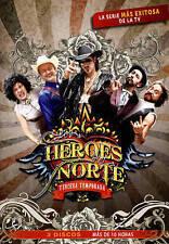 LOS HEROES DEL NORTE: TERCERA TEMPORADA NEW DVD