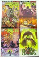 Teenage Mutant Ninja Turtles Secret History of the Foot Clan 1-4 Complete Set