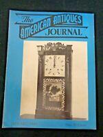 1949 AMERICAN ANTIQUES Journal Hokusai Zodiac Buttons Northwood Custard Glass