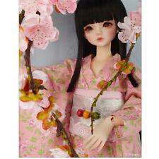 """Dollmore 17"""" 1/4 BJD dress MSD - Goyeon Kimono Set (O.Pink)"""