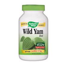 Wild Yam 180 Vegicaps by Nature's Way