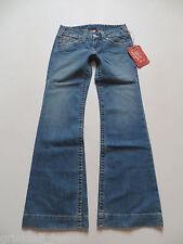 True Religion Schlag Jeans Hose 28/ 34, NEU ! Hippie Denim Made in USA ! W28/L34