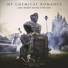 May Death Never Stop You: The Greatest Hits 2001-2013 [Two-LP+DVD] [PA] by My Chemical Romance (DVD, Mar-2014, 3 Discs, Reprise)