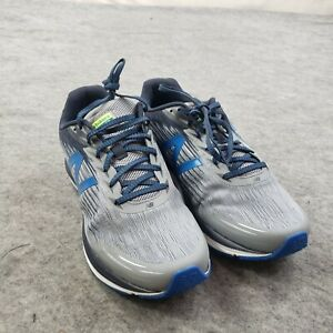 NEW New Balance SYNACT 11.5 Casual Gray Blue Running Mens Shoe Low Top Sneaker
