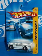 Hot Wheels Factory Set 2007 New Models #17 Ford GTX-1 White w/ Blue Stripes 5SPs