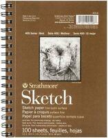 "100 Sheet Sketch Pad Notebook 5.5"" x 8.5""Sketchbook Drawing Pencil Art Book"
