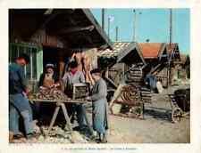 Art Print Juin 1954 la Vie Maritime du Bassin Aquitain : les Huîtres à Arcachon