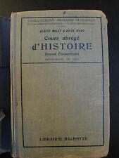 Cours Abrégé d'Histoire - 1922