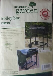 New Kingfisher Trolley BBQ Cover