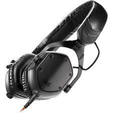 V-Moda XS Compact Noise-Isolating On-Ear Folding Metal Headphones (Matte Black)