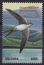 Uganda 1999 MNH, Water Sea Birds, African Palm Swift  -N57