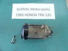 85 84 86 HONDA TRX 125 TRX125 FOURTRAX ATC 125M oem electric starter motor START