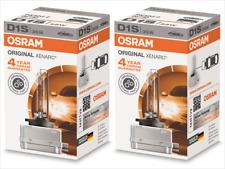 2x NEW OSRAM D1S 66140 XENON HID HEADLIGHT BULBS w/ 7-DIGIT TRUST CODE GERMANY