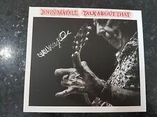 John Mayall ft.Joe Walsh Talk About That CD - Autographed