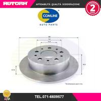 ADC1822 Coppia Disco freno post Citroen-Fiat-Peugeot (MARCA COMLINE)