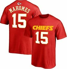 PATRICK MAHOMES POLYESTER NAME & NUMBER T-SHIRT YOUTH LARGE 14/16 RED