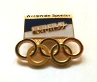 Vintage Federal Express Fed Ex Olympic USA Worldwide Sponsor Lapel Pin