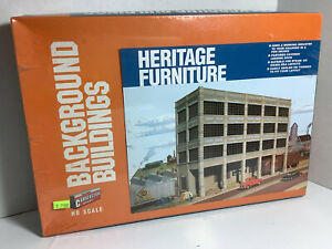 HO SCALE 1:87 WALTHERS HERITAGE FURNITURE BUILDING 933-3164 FACTORY SEALED