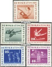 DDR 707-711 (complete.issue.) FDC 1959 German Gymnastics- and Sports Festival