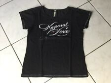 Tee-shirt KAPORAL taille 16 Ans noir comme neuf