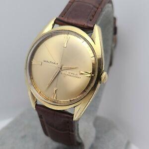 Vintage Waltham Men's manual winding watch AS 1686  17 Jewels 1960s
