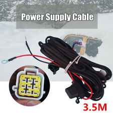 3.5M Power Supply Cable Wire Linear Speed 0.5 Square For Diesel Air Heater Parts