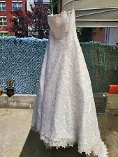 Davids bridal wedding dress size 14 Style T9211 RN84270