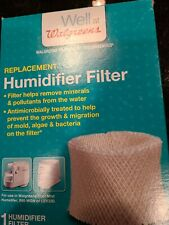 New Walgreens Cool Mist Humidifier Replacement Filter Fits 890-Wgn and Lev320
