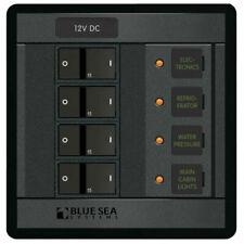 Blue Sea 12V / 4 Gang Circuit Breaker Panel
