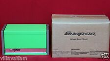 Snap On Extreme Green Mini Micro Top Chest Tool Box  Brand New !!!!!