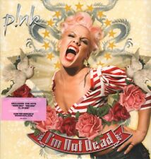 PINK (FEMALE POP) I'm Not Dead DOUBLE LP VINYL Europe Rca 2018 14 Track Limited
