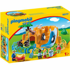 PLAYMOBIL 9377 1.2.3 Zoo with Penguin Enclosure